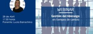 Webinar: «Gestión del Liderazgo en tiempos de cambios»