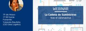 Webinar: «La Cadena de Suministros tras el coronavirus»