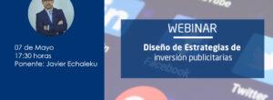 Webinar – «Diseño de Estrategias de Inversión Publicitaria»