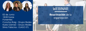 Webinar: «Reactivación de la Organización»